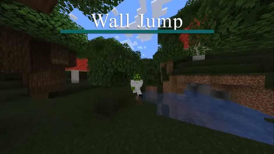 Wall Jump mod para Minecraft [ACTUALIZADO 2020]