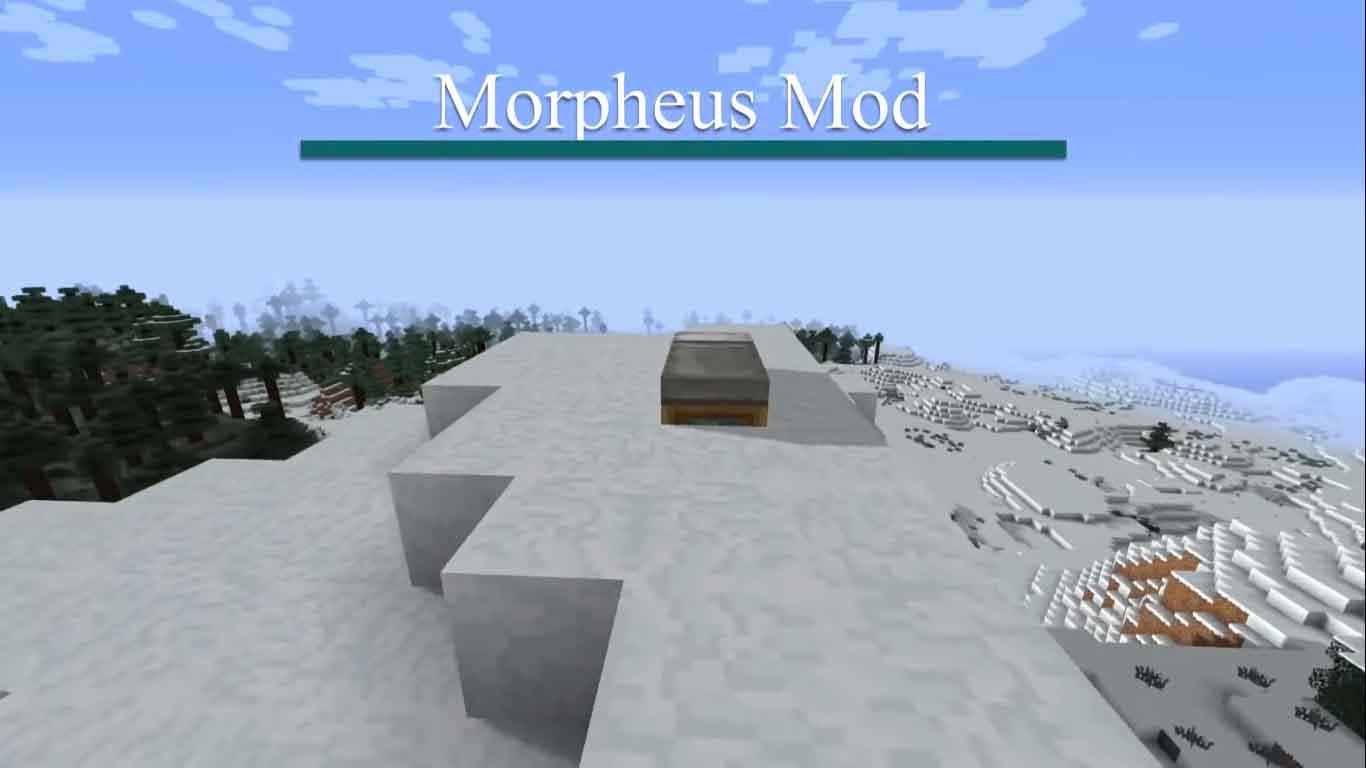 Morpheus mod Minecraft [2020]