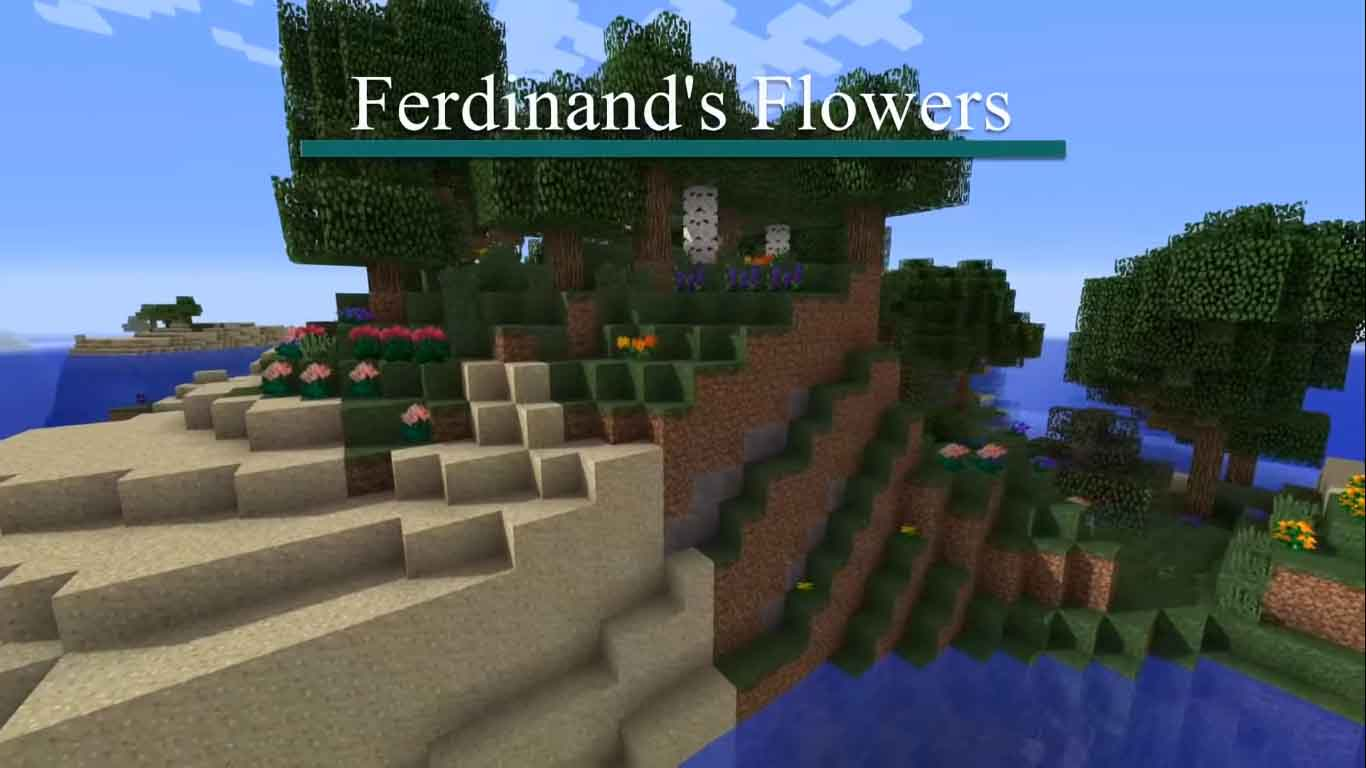 Ferdinands flowers mod Minecraft [2020]