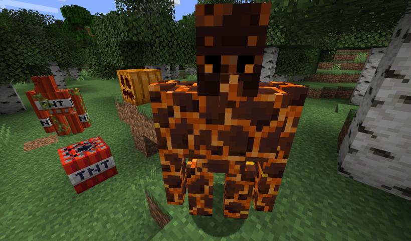 Extra golems mod para Minecraft 1.15.2