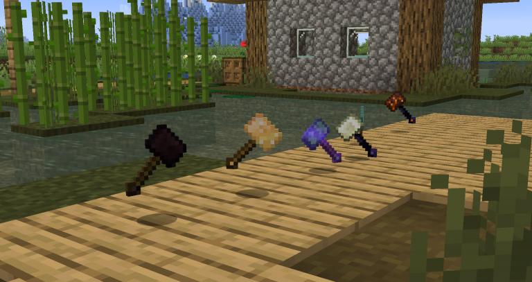 Vanilla Hammers para Minecraft 1.15.2