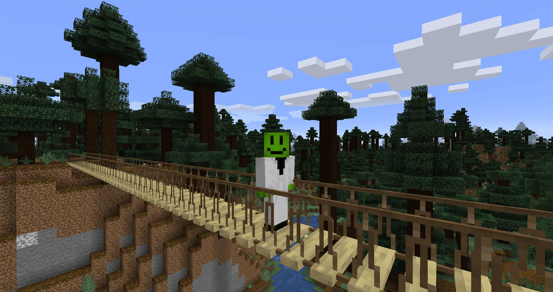 Macaws Bridges mod para Minecraft 1.15.2 [2020]