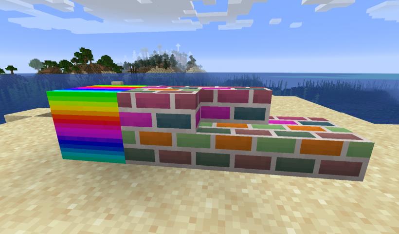 Blockus mod para Minecraft