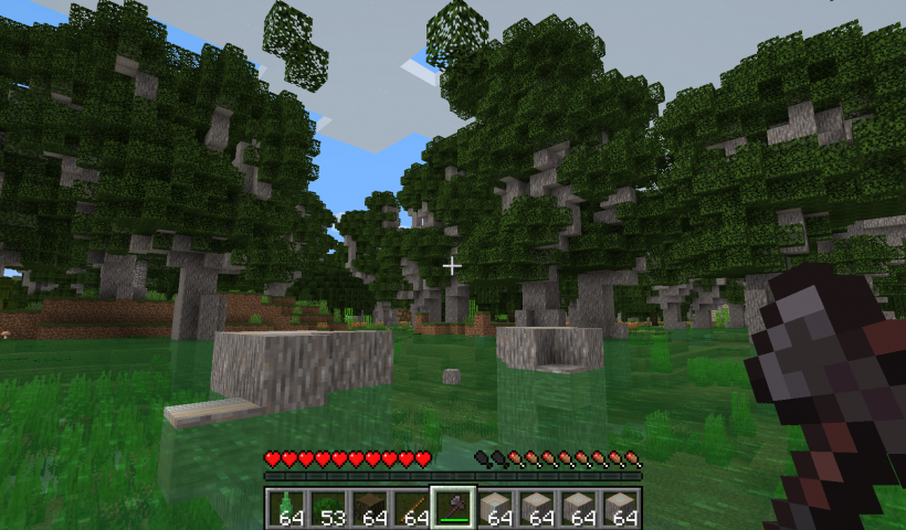 Trees do not flat para Minecraft