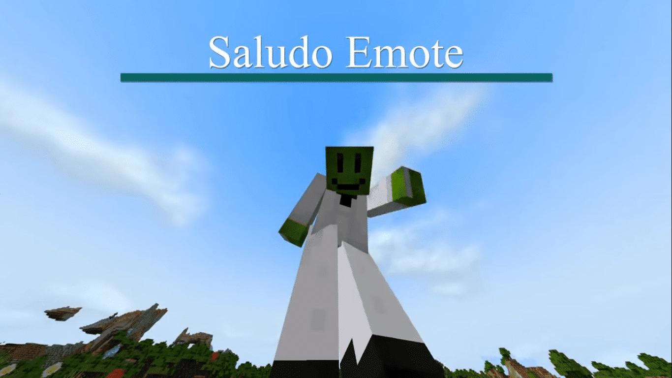 Emotes mod para Minecraft PE y BE