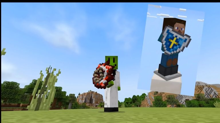 Terraria shield mod para Minecraft