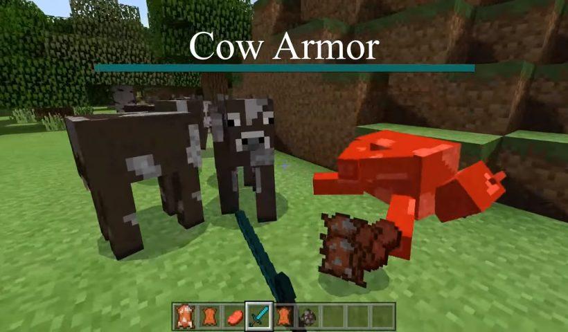 Cow Armor mod para Minecraft
