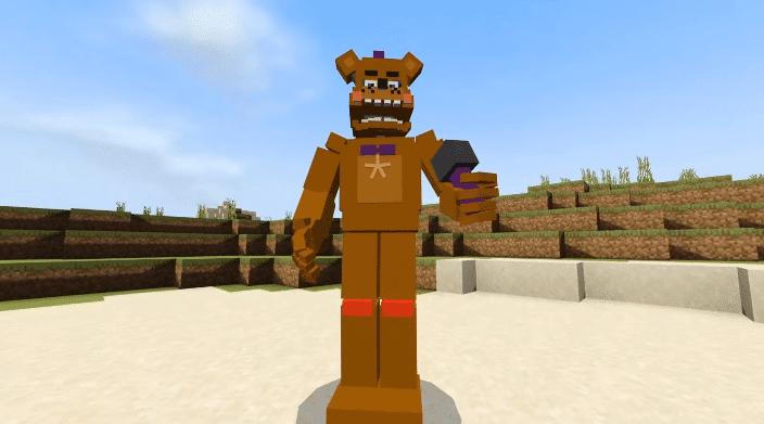 Fnaf Universe Mod para Minecraft PE y BE