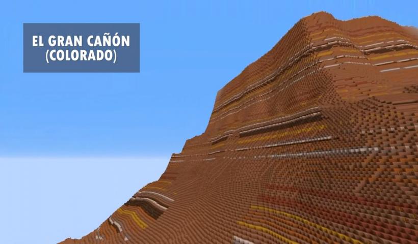 Terra mod para Minecraft