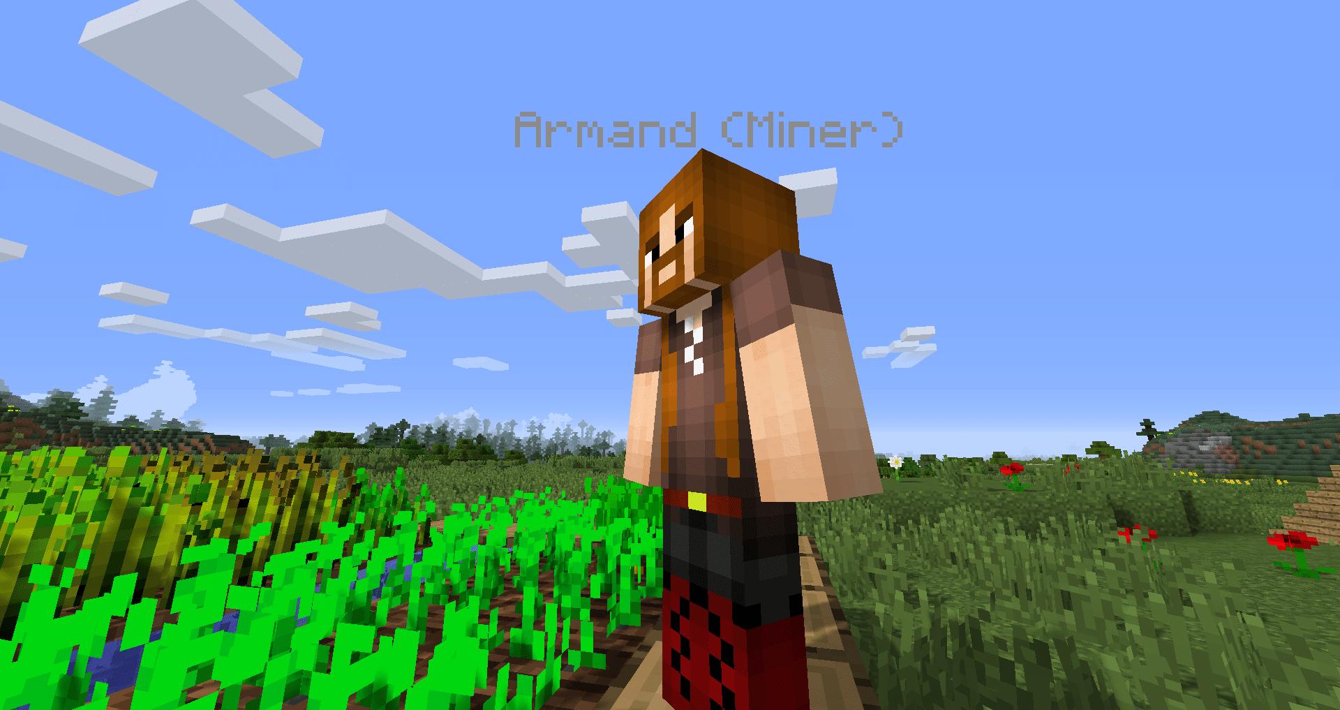 Minecraft Comes Alive mod para Minecraft