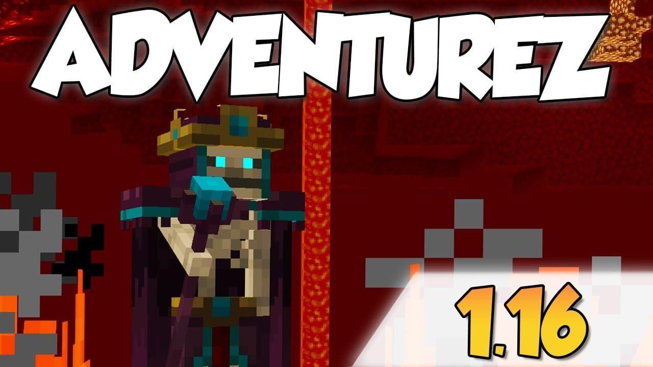 【AdventureZ MOD】para Minecraft 1.16.1, 1.16.2 y 1.16.3