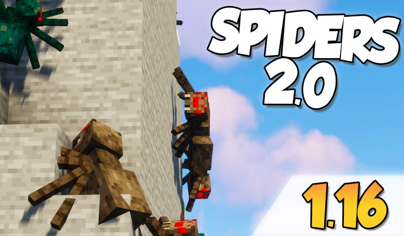Spiders 2.0 Mod 1.16