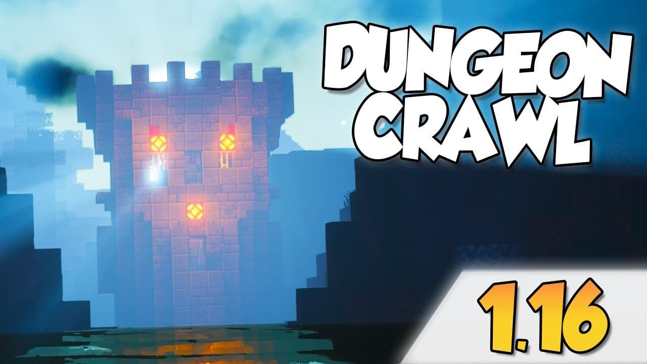 【Dungeon Crawl MOD】para Minecraft 1.16.1 y 1.16.3