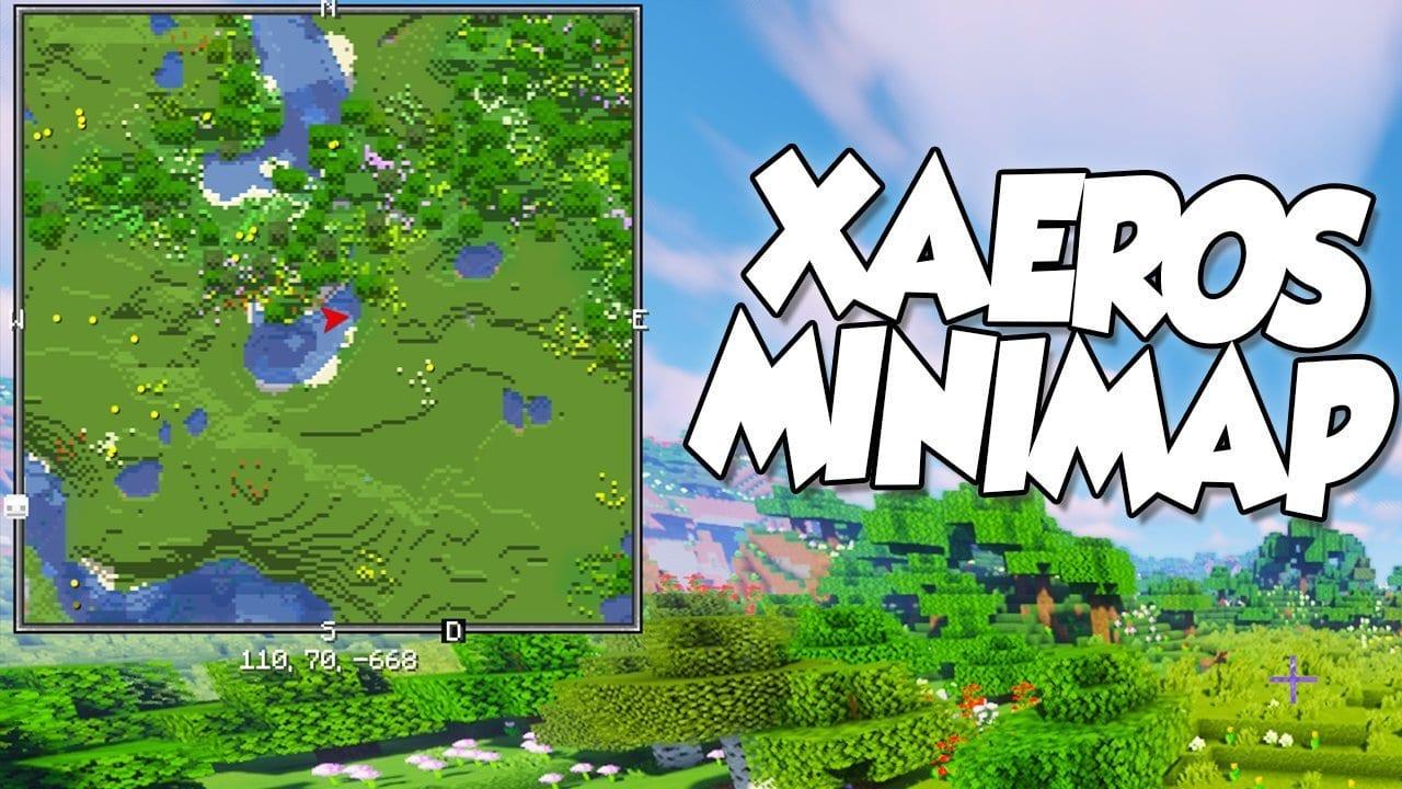 【 Xaero's Minimap MOD 】para Minecraft 1.16.3