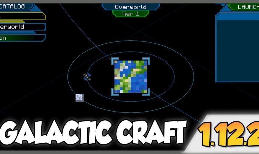 【 GalacticCraft MOD 】para Minecraft 1.12.2