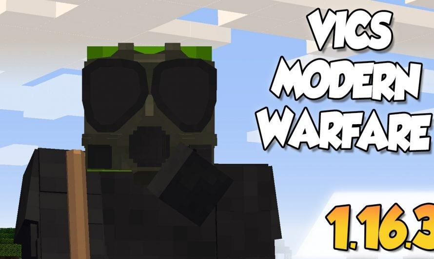 【 Vic's Modern Warfare MOD 】para Minecraft 1.12.2