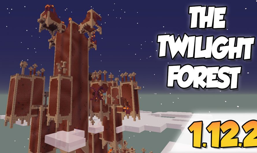 【 Twilight Forest MOD 】para Minecraft 1.12.2