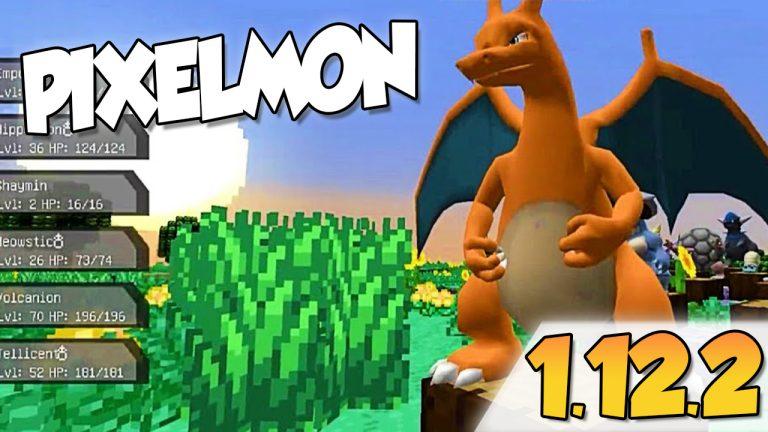 Pixelmon Mod 1.12.2 para Minecraft