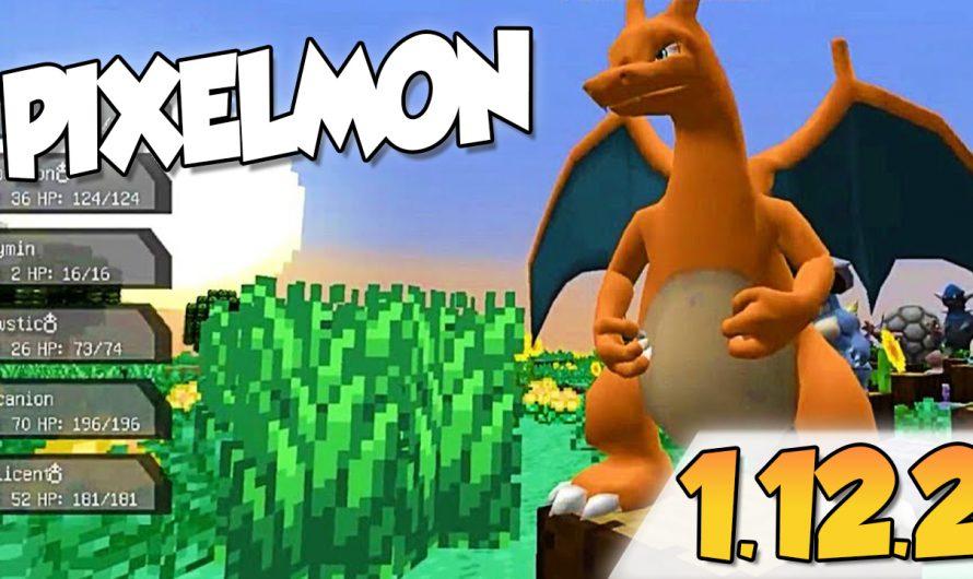 【 Pixelmon MOD 】para Minecraft 1.12.2