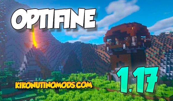 Optifine 1.17 para Minecraft