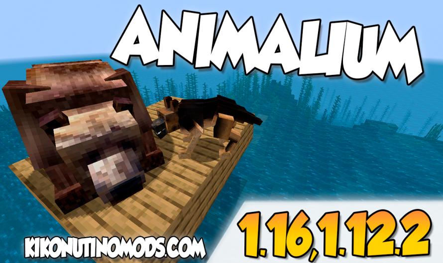 【 Animalium MOD 】para Minecraft 1.16.4, 1.16.3, 1.16.1, 1.12.2