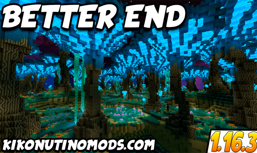 【 Better End MOD (FABRIC) 】para Minecraft 1.16.4, 1.16.3
