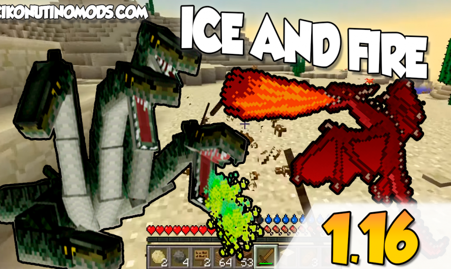 【 Ice and Fire MOD 】para Minecraft 1.16.4, 1.16.3, 1.16.1