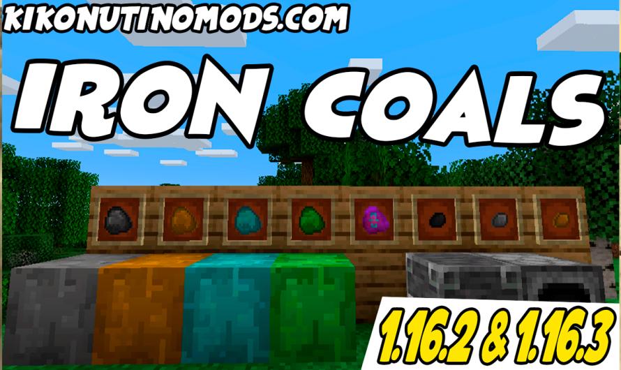 【 Iron Coals MOD 】para Minecraft 1.16.3, 1.16.2, 1.16.1