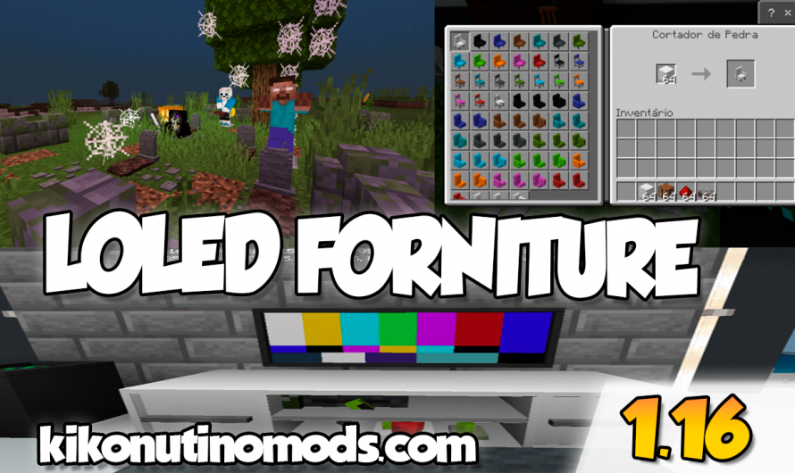 【Loled Furniture ADDON】para Minecraft PE y BE 1.16