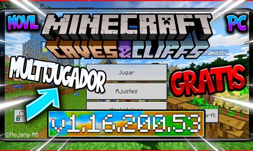 【 Como Descargar Minecraft Bedrock/PE 1.16.200.53 GRATIS 】APK Minecraft Cave and Cliff Update