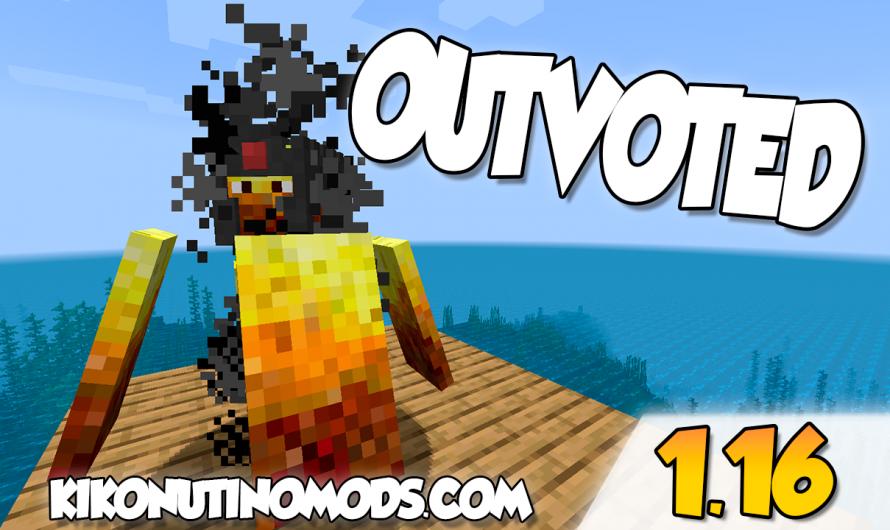 【 Outvoted MOD 】para Minecraft 1.16.4, 1.16.3, 1.16.1, 1.15.2