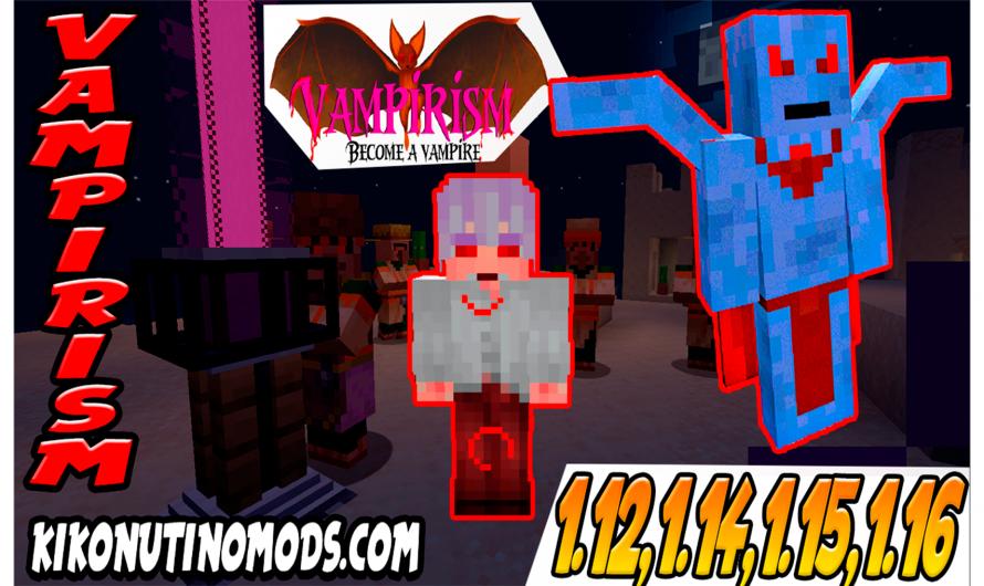 【 Vampirism MOD 】para Minecraft 1.16.4, 1.16.3, 1.12.2, 1.15.2, 1.14.4
