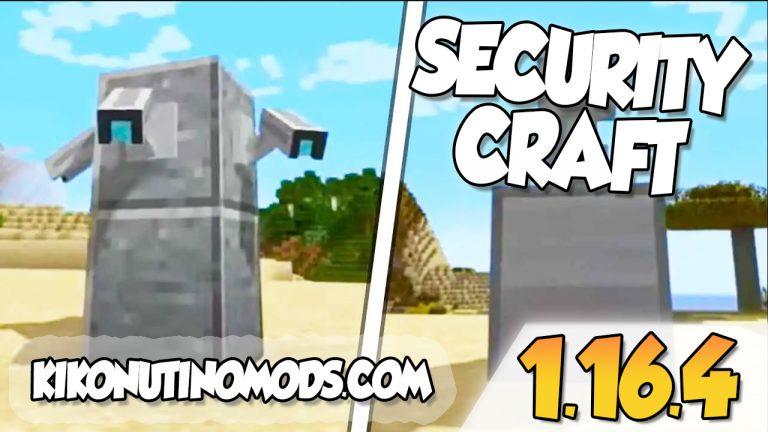 SecurityCraft mod para Minecraft 1.16.4
