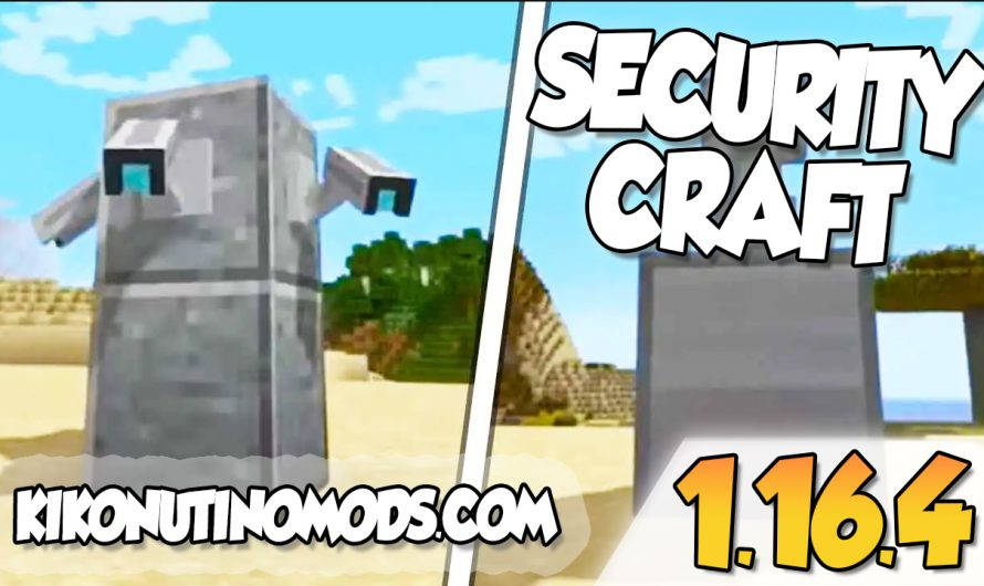【 SecurityCraft Mod 1.16.4 】para Minecraft