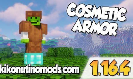 Cosmetic Armor mod 1.16.4