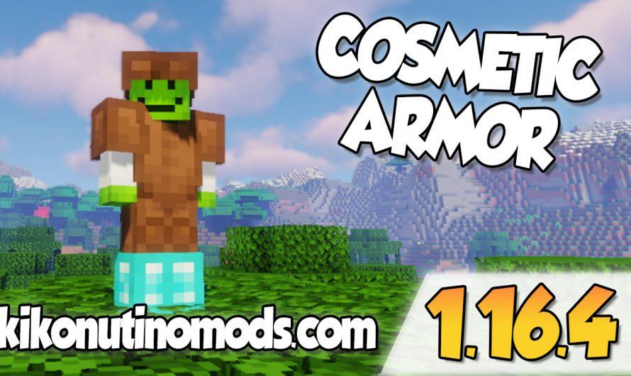 【 Cosmetic Armor MOD 】para Minecraft 1.16.4 y 1.16.3