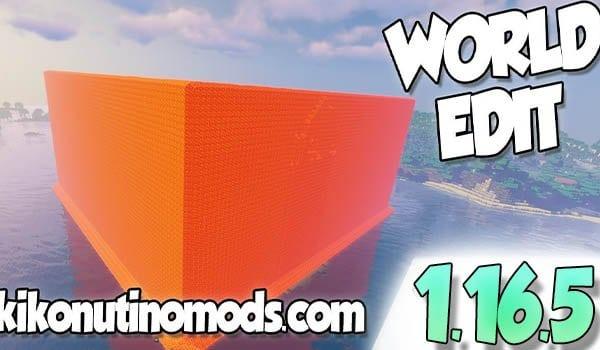 World Edit Mod 1.16.5