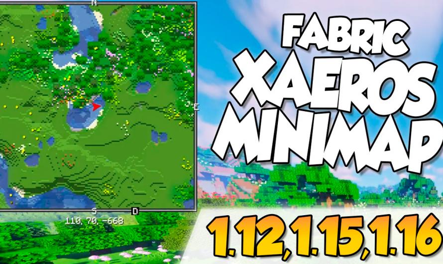 【 Xaero's World Minimap MOD 】para Minecraft 1.16.4, 1.16.3, 1.12.2, 1.15.2