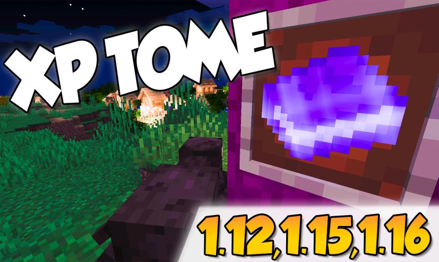 【 Xp Tome MOD】para Minecraft 1.16.4, 1.16.1, 1.12.2, 1.15.2