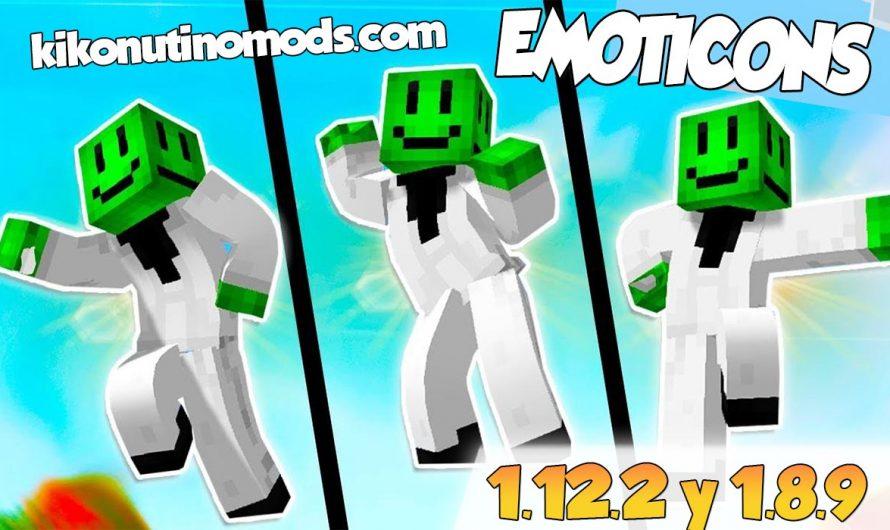 【  Emoticons MOD 】para Minecraft 1.12.2 y 1.8.9