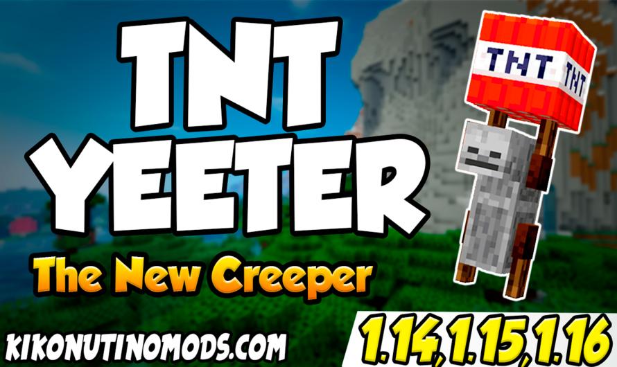 【 Tnt Yeeter MOD 】para Minecraft 1.16.4, 1.16.3 y 1.16.1
