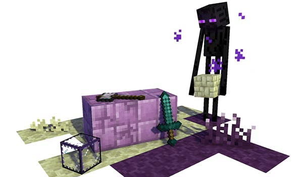 【End Reborn MOD 】para Minecraft 1.16.1, 1.16 y 1.15.2