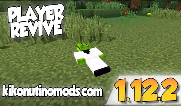 【 Player Revive MOD 】para Minecraft 1.12.2 y 1.12