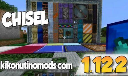 Chisel mod Minecraft 1.12.2