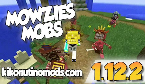 【 Mowzies Mobs MOD 】para Minecraft 1.12.2 y 1.7.10