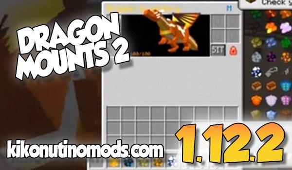 【 Dragon Mounts 2 MOD 】para Minecraft 1.12.2 y 1.16.4