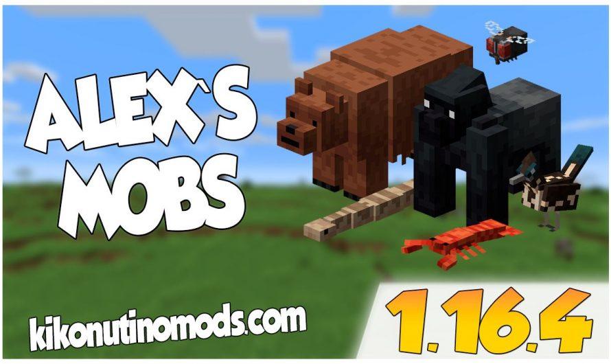 【 Alex's Mobs MOD 】para Minecraft 1.16.4