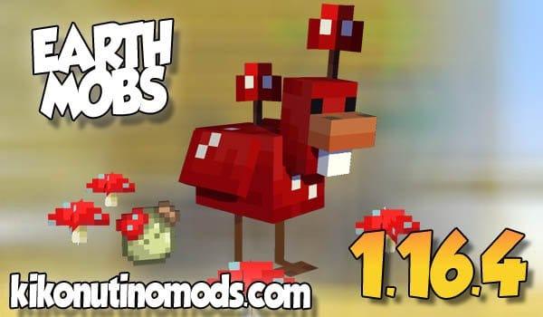 【  Earth Mobs  MOD 】para Minecraft 1.16.4 y 1.16.3