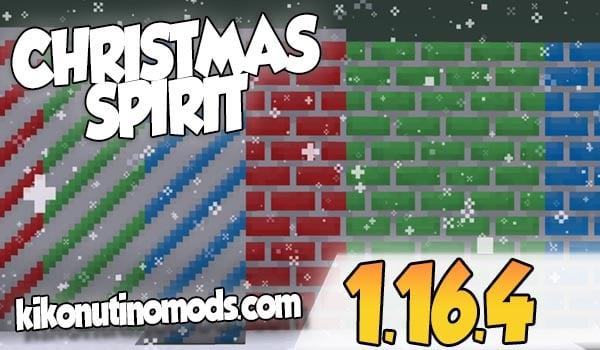 【 Christmas Spirit MOD 】para Minecraft 1.16.4