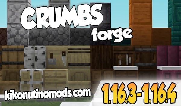 【 Crumbs MOD 】para Minecraft 1.16.4 y 1.16.3